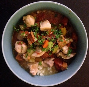 Slow Cooked Paleo Chicken Gumbo